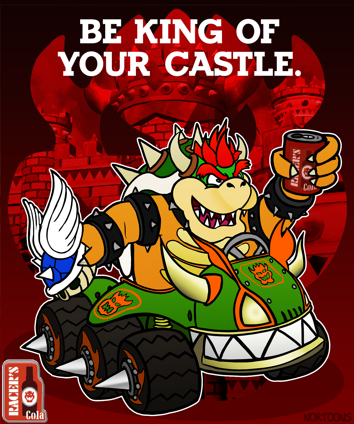 Racer's Cola featuring King Bowser