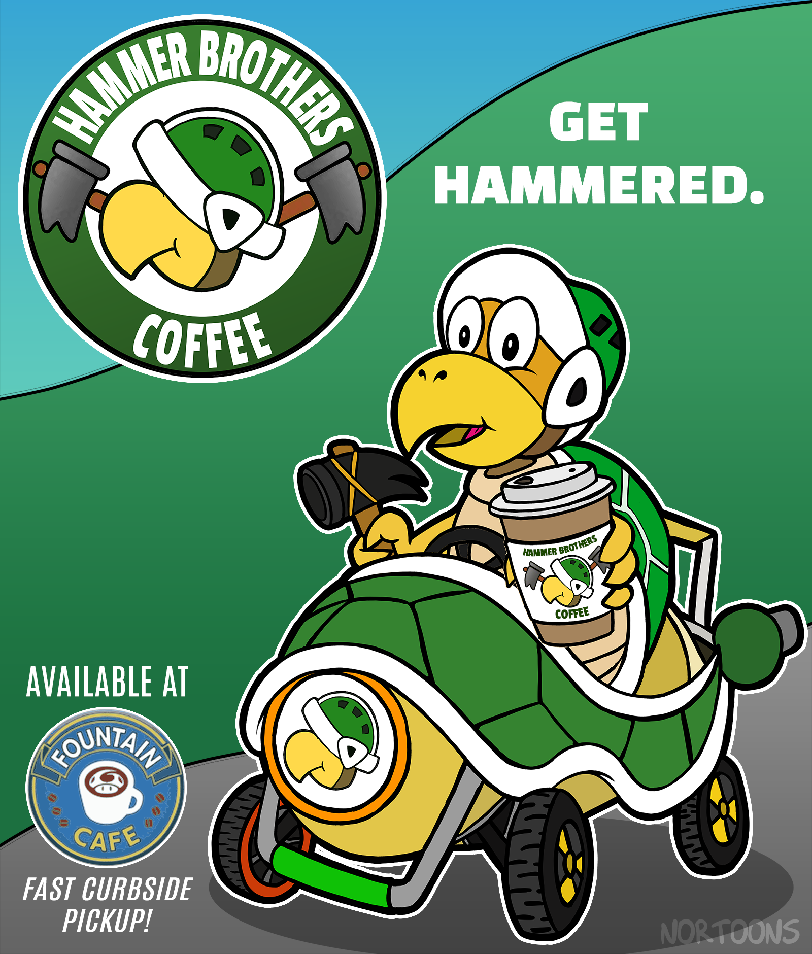 Hammer Brothers Coffee - Get Hammered