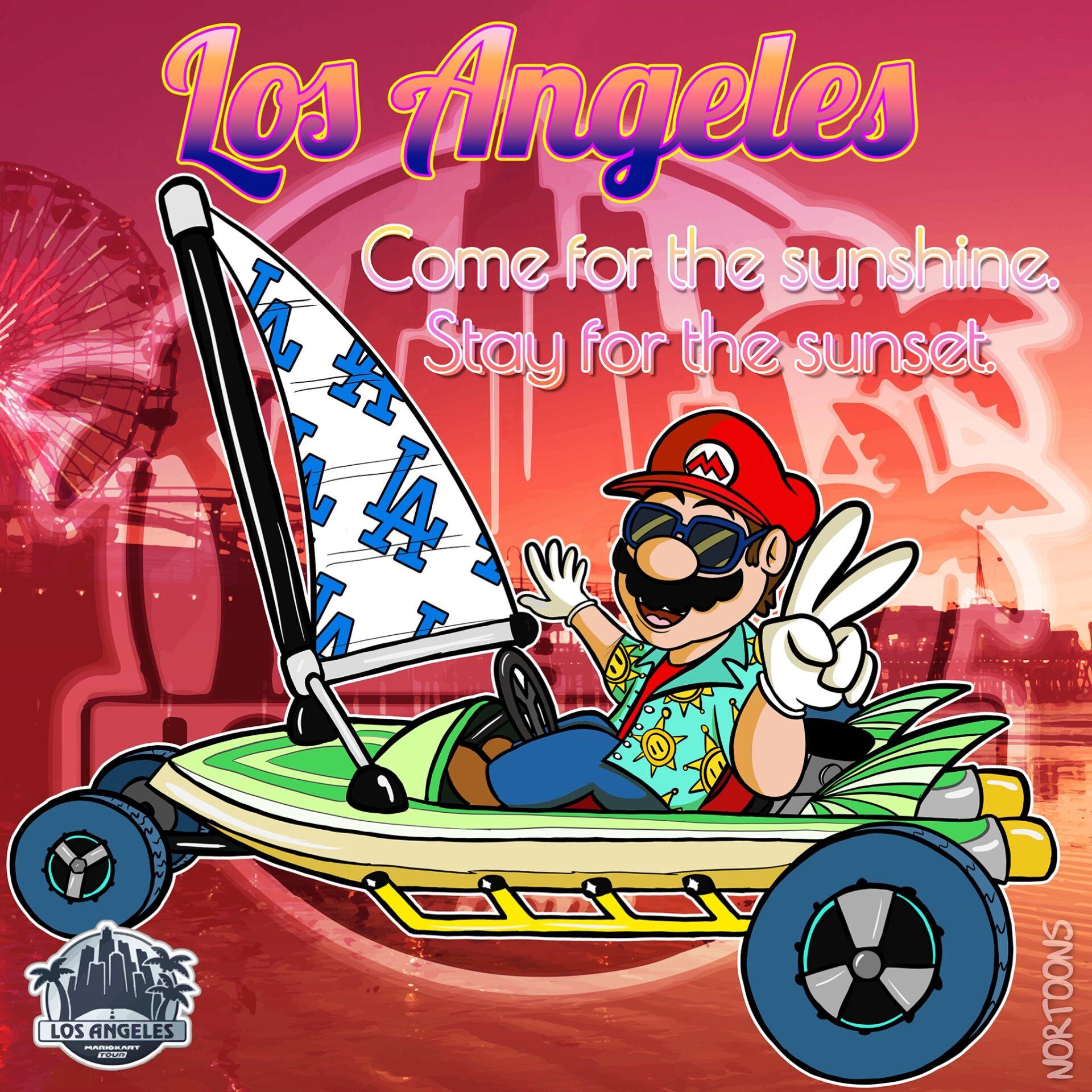 Super Mario Kart - Los Angeles