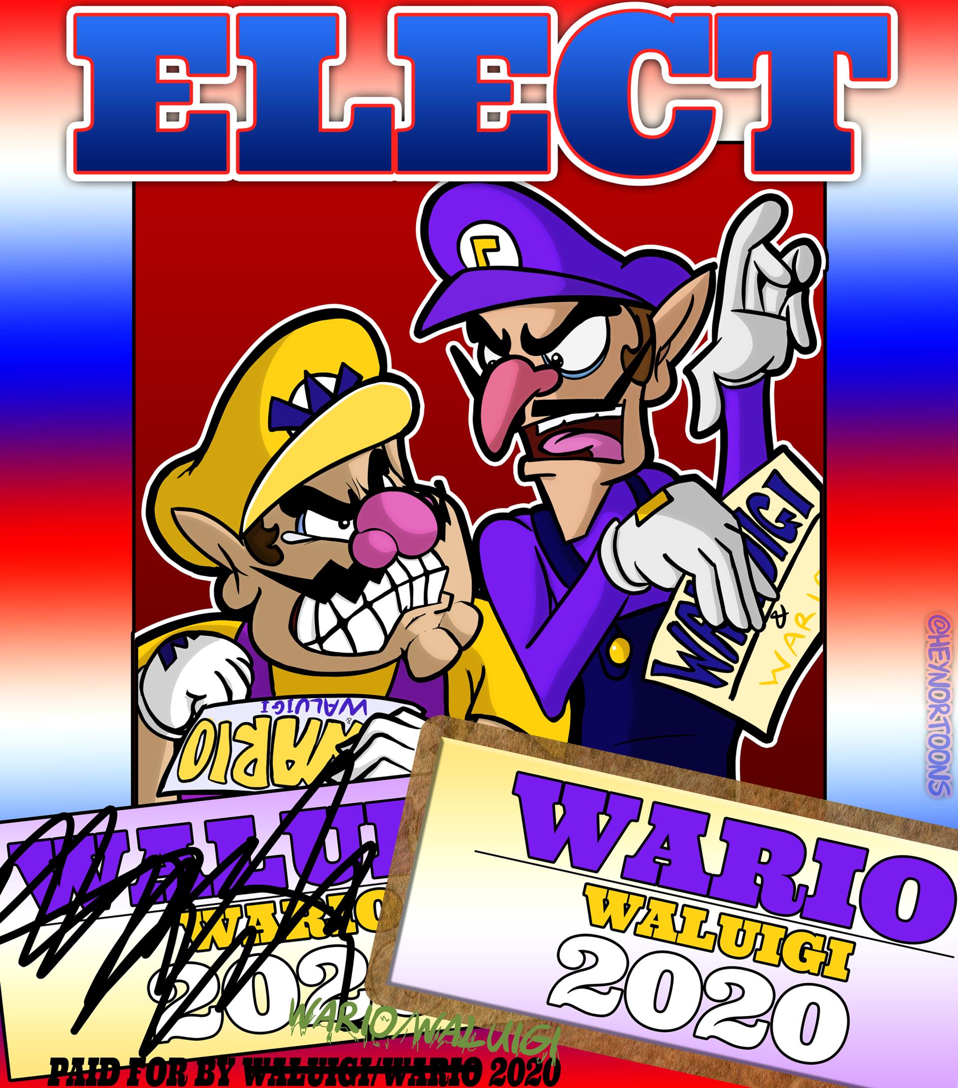Elect Waluigi/Wario 2020