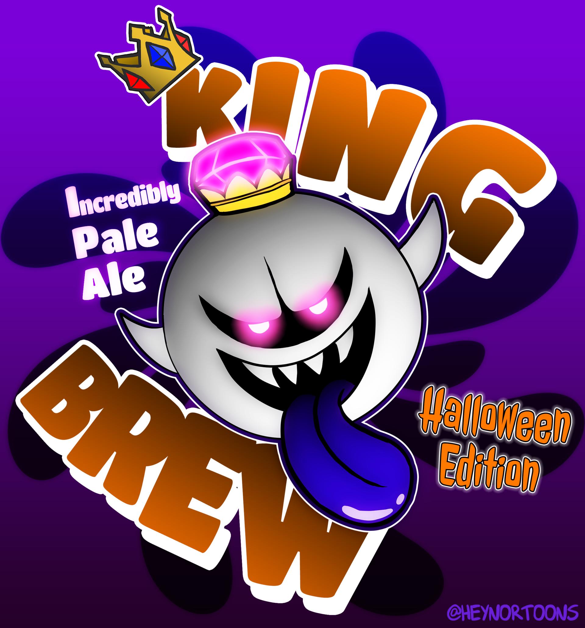 King Boo IPA (Incredibly Pale Ale) - Halloween Edition