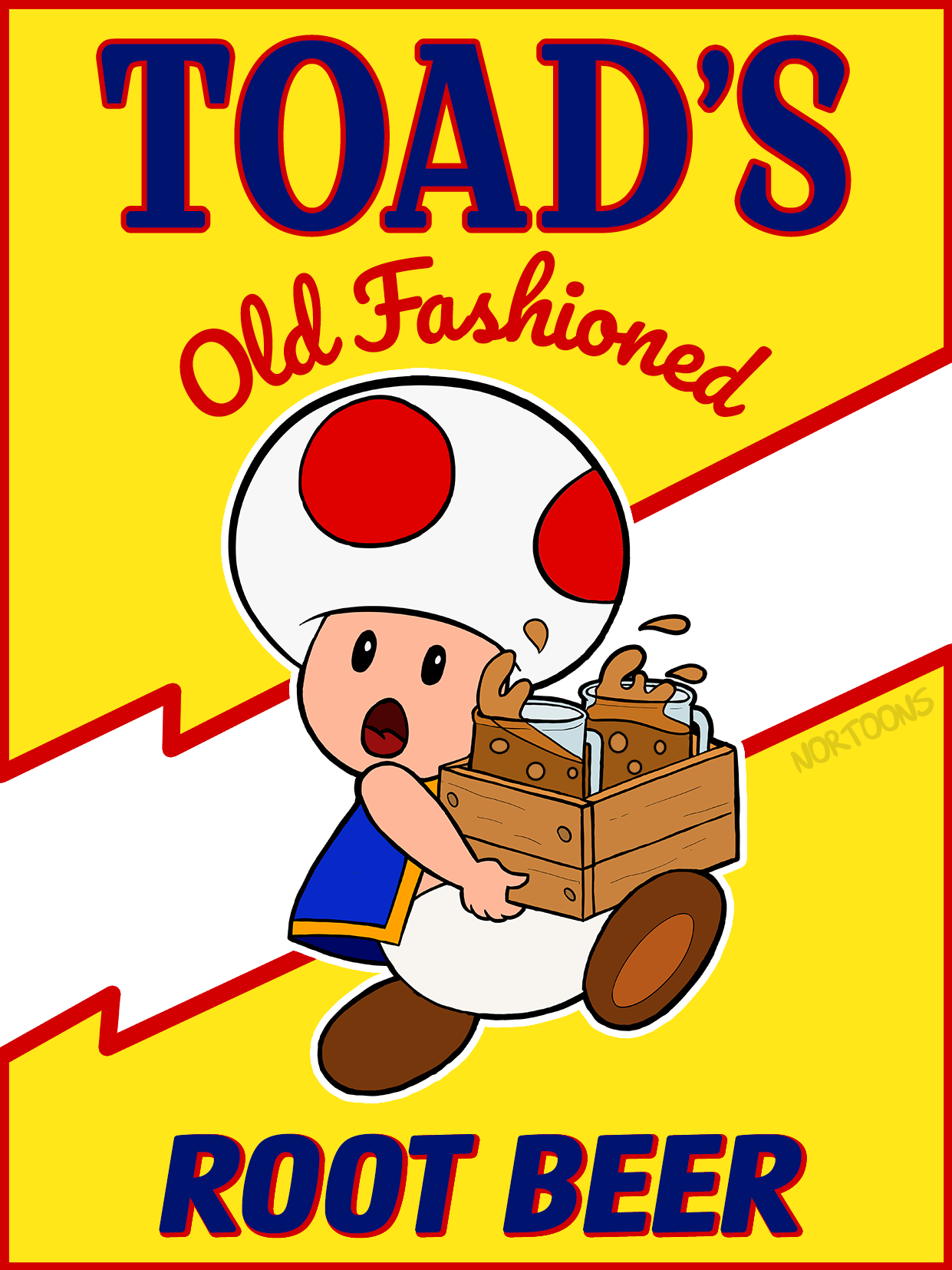 Toad's Old-Fashioned Root Beer
