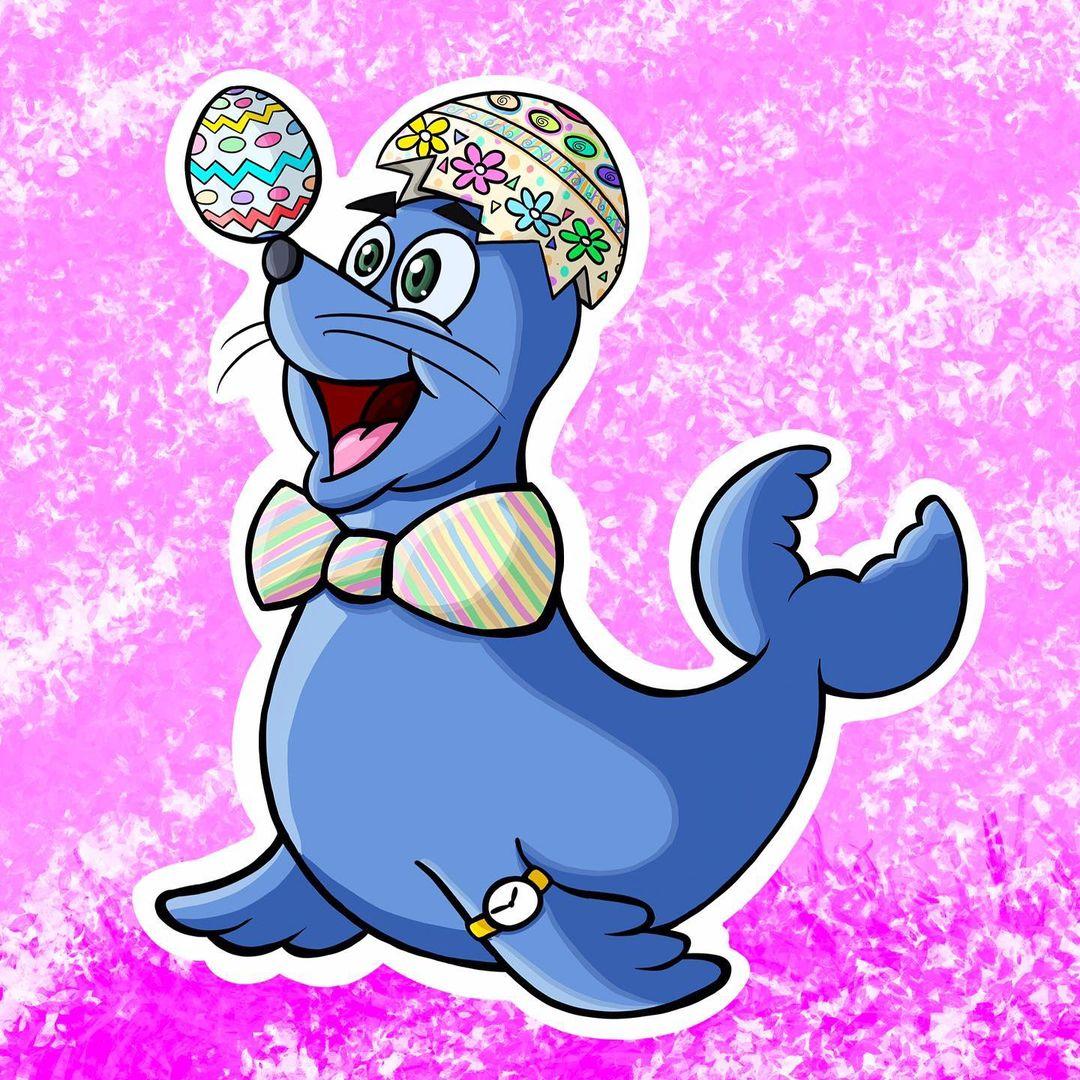 Blue Seal Bagels Logo - Easter Buster