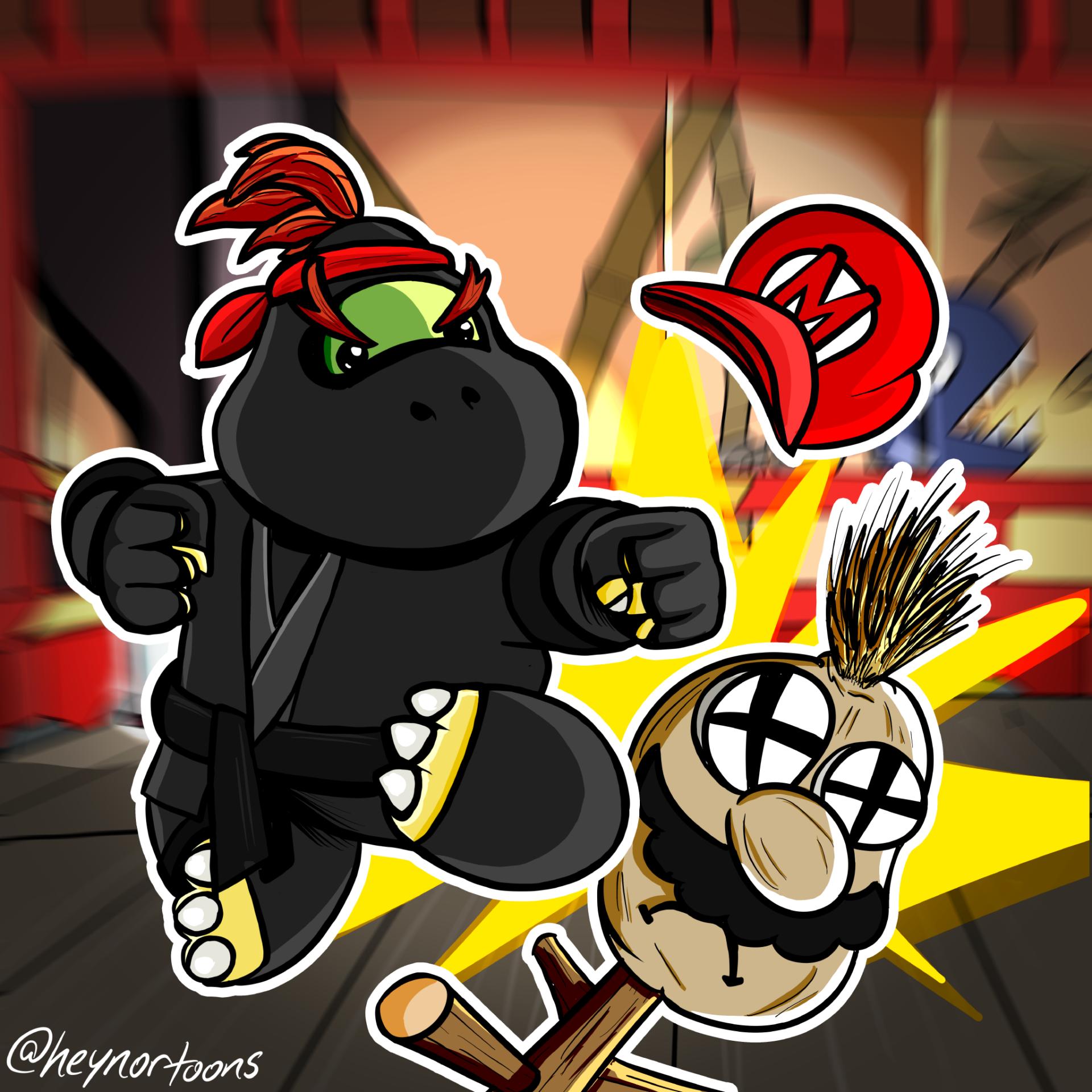 Bowser Jr. as a Ninja