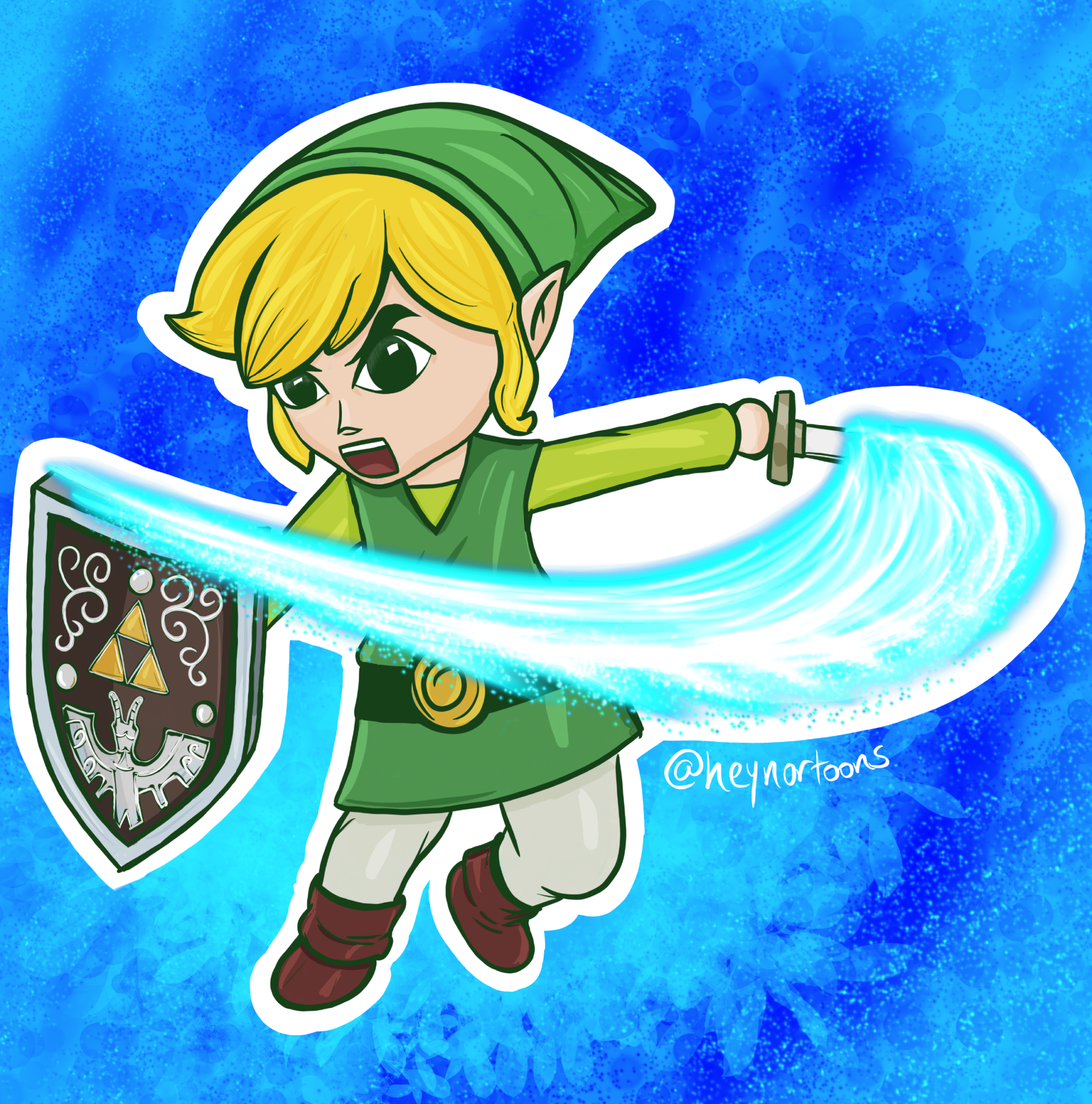 Toon Link from Wind Waker