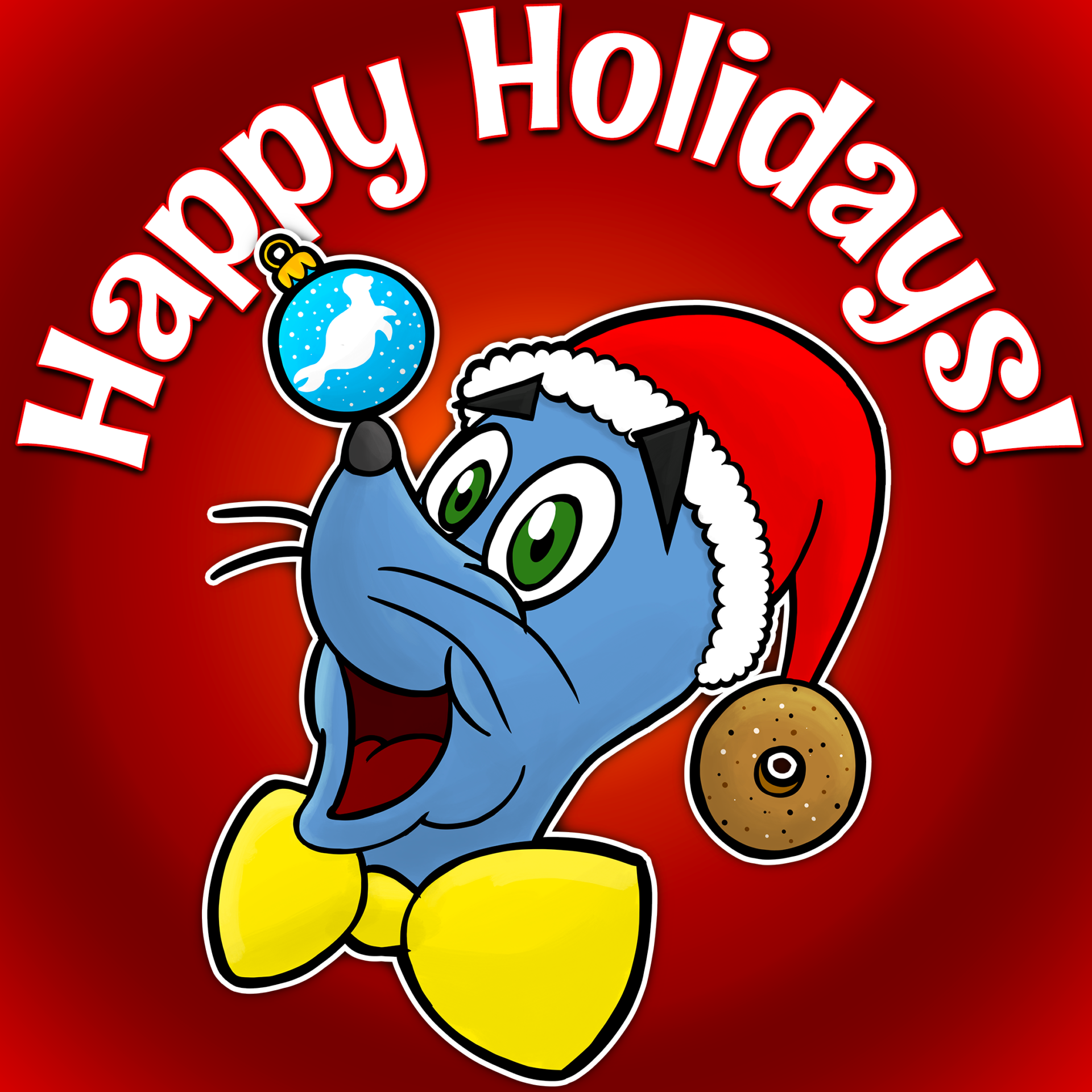 Blue Seal Bagels - Happy Holidays!
